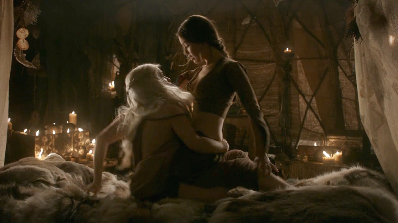 game of thrones lesbian sex scene