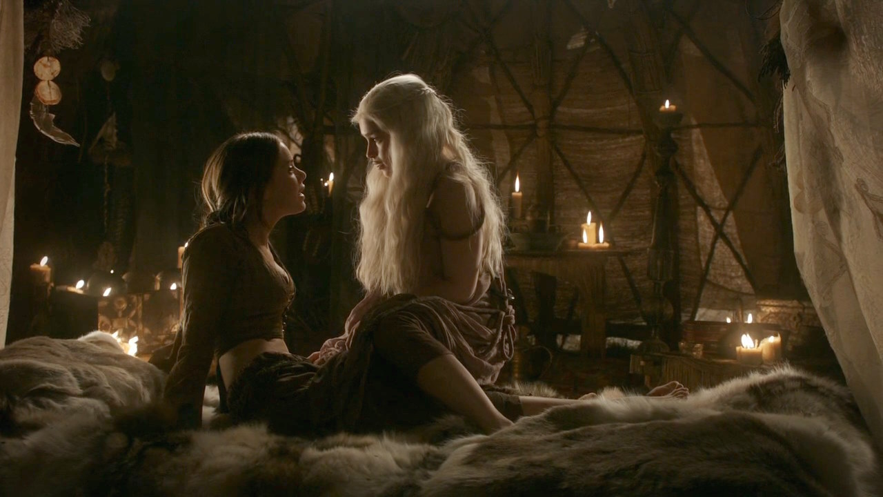 Game of thrones lesbian sex